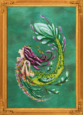 Enchantress of the Abyss - Cross Stitch Pattern