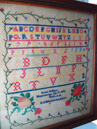 Sarah Skillman 1846  - Cross Stitch Pattern