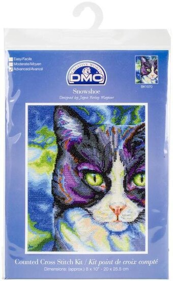 Snowshoe Cat - Cross Stitch Kit