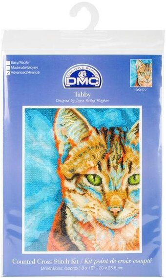 Tabby Cat - Cross Stitch Kit