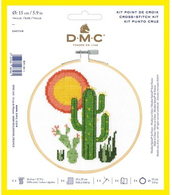 Cactus - DMC Cross Stitch Kit