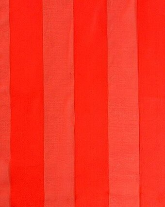 Print Scarf - 13x60 Satin Stripe - Solid Color - Red