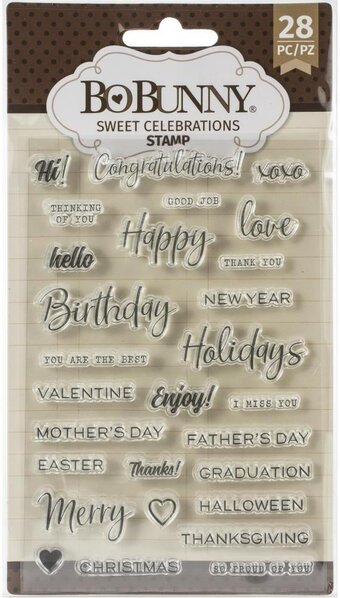 Sweet Celebration - Clear Stamp
