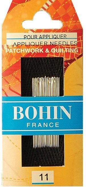 Bohin Applique Quilting Needles - Size 11
