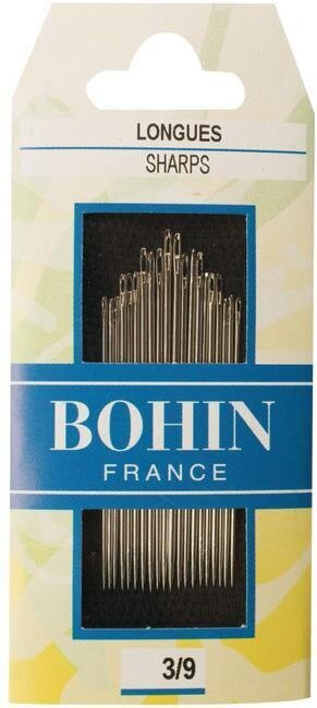 Bohin Sharps Hand Needles - Size 3/9