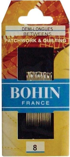 Bohin Quilting Betweens Hand Needles - Size 8