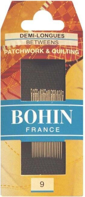 Bohin Quilting Betweens Hand Needles - Size 9