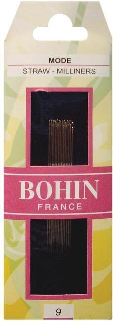 Bohin Milliners Hand Needles Size 9