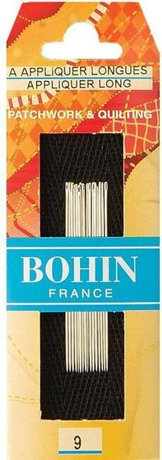 Bohin Applique Needles Size 9