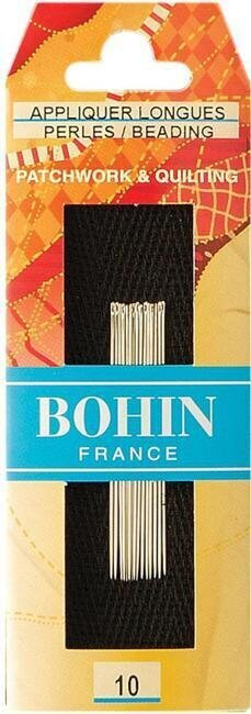 Bohin Applique Quilting Needles - Size 10