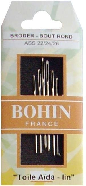 Bohin Tapestry Needles Size 22/24/26