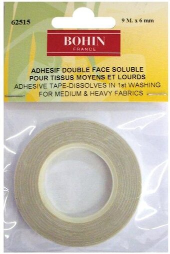 Double Sided Adhesive Tape for Sewing - Water Soluble