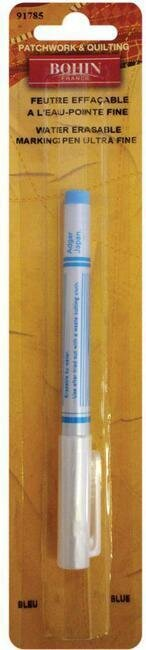 Bohin Water Erasable Marking Pen - Ultra Fine - Blue