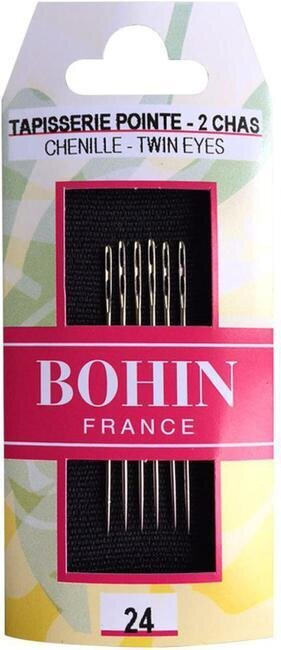 Bohin Double Eye Chenille Hand Needles Size 24
