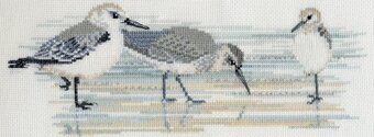 Birds: Waders - Cross Stitch Kit