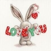Love You - Bebunni - Cross Stitch Kit