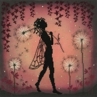 Enchanted Dandelion Fairy - Cross Stitch Kit