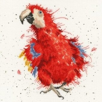 Parrot on Parade - Cross Stitch Kit