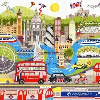 London - Cross Stitch Kit