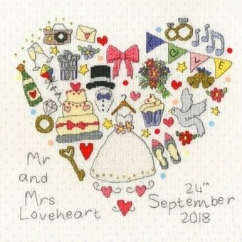 The Big Day - Cross Stitch Kit