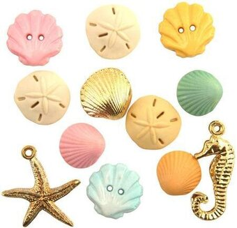 Button Theme Pack - Beach Treasures