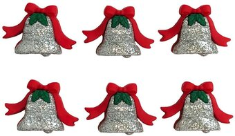 Christmas Silver Bells - Button Theme Pack