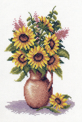 Sunflower Bunch - Cross Stitch Kit