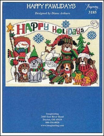 Happy Pawlidays - Cross Stitch Pattern