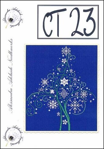 CT23 (Christmas Tree) - Cross Stitch Pattern