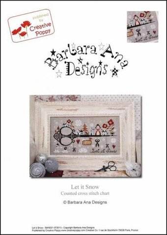 Let It Snow - Cross Stitch Pattern