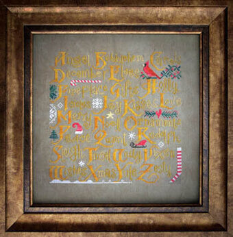 Christmas Sampler - Cross Stitch Pattern
