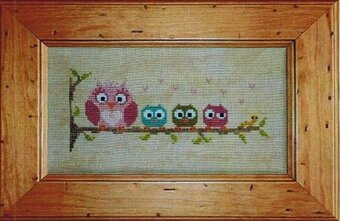 Troup Chouette! - Cross Stitch Pattern