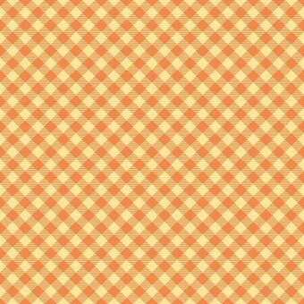 Riley Blake Orange Basics Gingham Fat Quarter