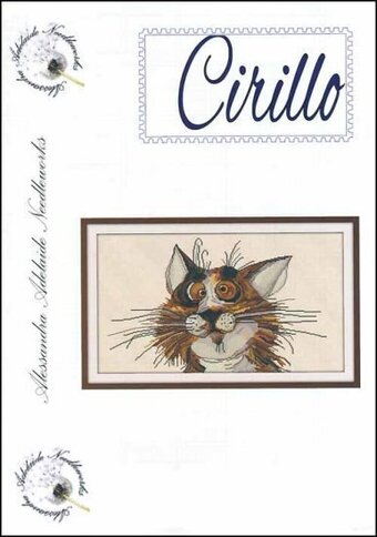 Cirillo - Cross Stitch Pattern