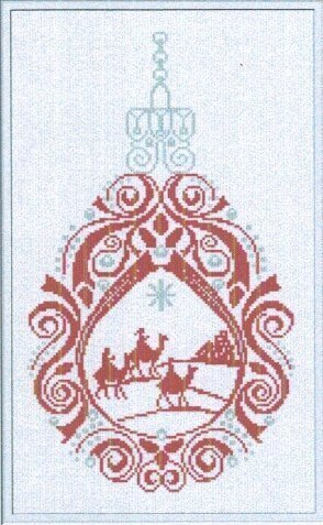 Three Kings Ornament - Cross Stitch Pattern