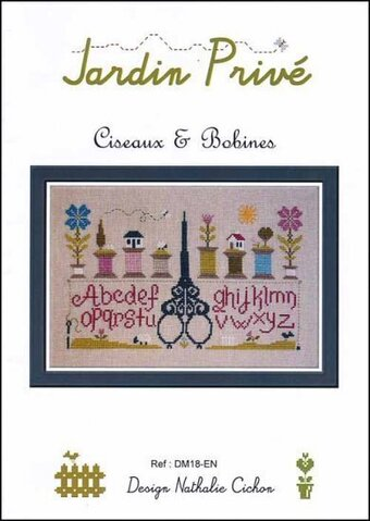 Ciseaux & Bobines - Cross Stitch Pattern