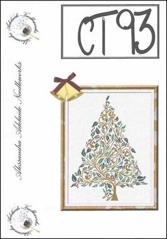 Christmas Tree 93 - Cross Stitch Pattern