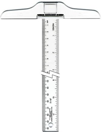 Junior T-Square Ruler 12""