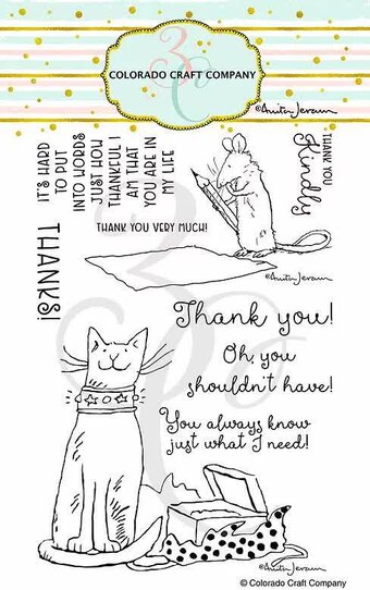 Thank You - Anita Jeram - Clear Stamp