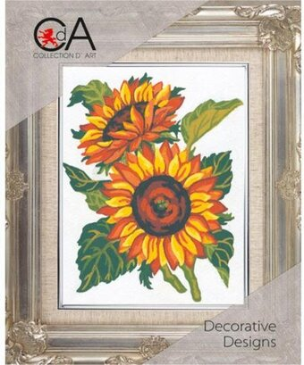 Sunflowers - Stamped Needlepoint Kit