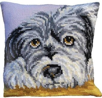 Fidele Pillow - Needlepoint Kit