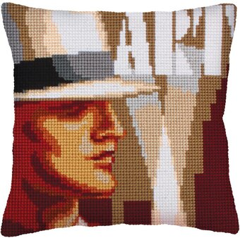 Art Deco I - Stamped Needlepoint Cushion Kit