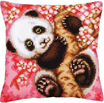 Hooray It's Spring - Stamped Needlepoint Cushion Kit