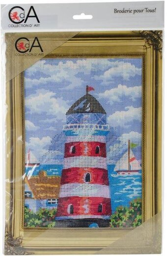 Lighthouse - Stamped Needlepoint Kit
