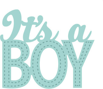 Sue Wilson Dies - New Arrival Collection - It's A Boy