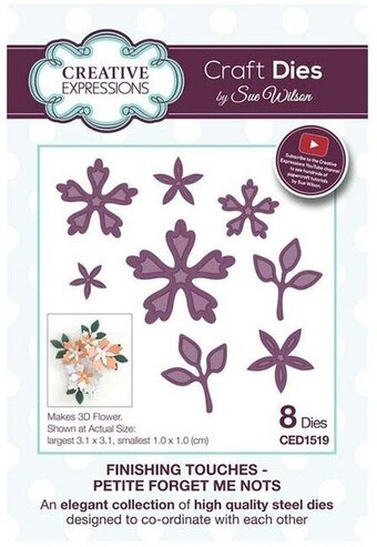 Petite Forget Me Nots - Sue Wilson Flowers Craft Dies