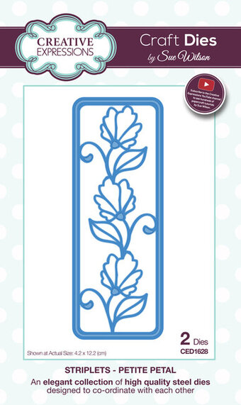 Sue Wilson Dies - Striplet Collection - Petite Petal
