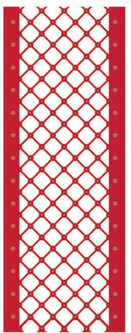 Sue Wilson Christmas Dies - Lattice Ribbon