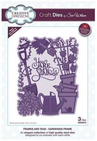 Gardening Frame - Sue Wilson Frames and Tags Craft Dies