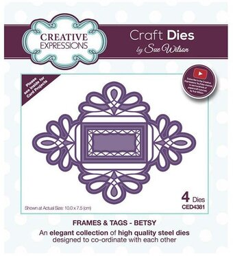 Betsy - Frames and Tags - Craft Die